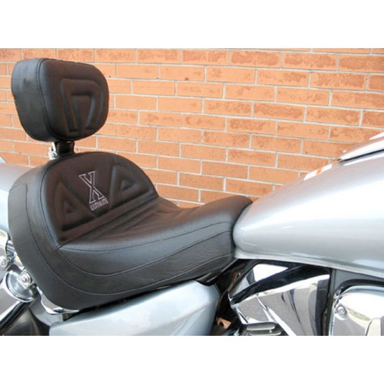 VTX 1300 C Lowrider Seat and Driver Backrest - Plain or Studded