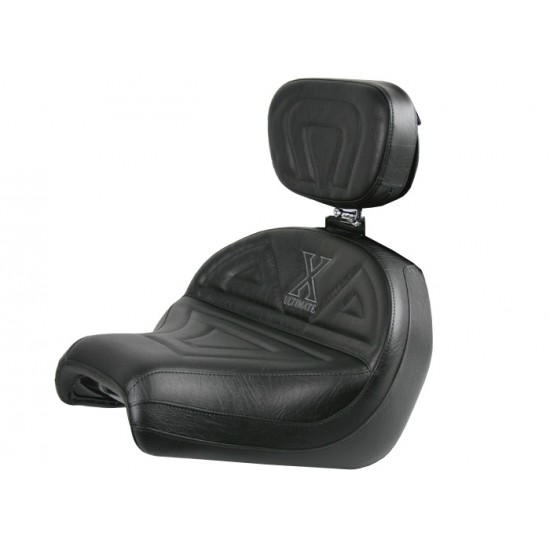 VTX 1300 C Midrider Seat and Driver Backrest - Plain or Studded