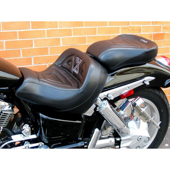 VTX 1800 C Lowrider Seat and Passenger Seat - Plain or Studded