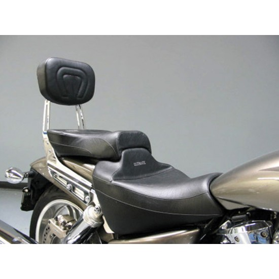 VTX 1800 F Midrider Seat, Passenger Seat and Sissy Bar Pad - Plain or Studded