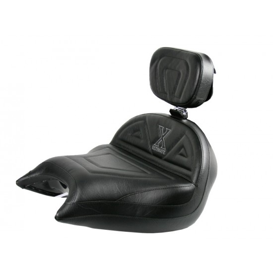 VTX 1800 N Neo Big Boy Seat and Driver Backrest - Plain or Studded
