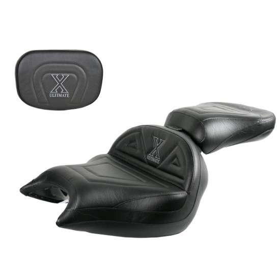 VTX 1800 N Neo Big Boy Seat, Passenger Seat and Sissy Bar Pad - Plain or Studded