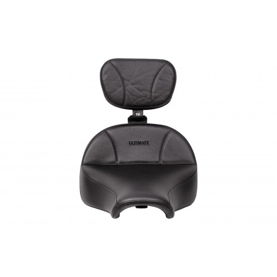 Street Bob® and Sport Glide® Seat and Driver Backrest - Plain or Studded (2018 and Newer)