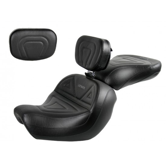 Shadow Aero 750 Seat, Passenger Seat, Driver Backrest and Sissy Bar Pad - Plain or Studded