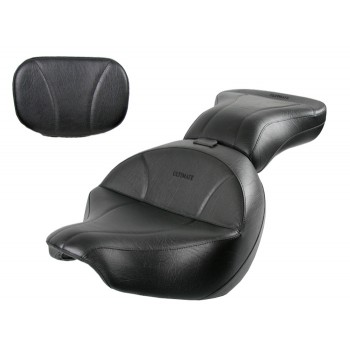 Boulevard C109 Seat, Passenger Seat and Sissy Bar Pad - Plain or Studded