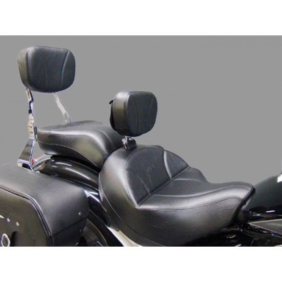 Boulevard C109 Seat, Passenger Seat, Driver Backrest and Sissy Bar Pad - Plain or Studded