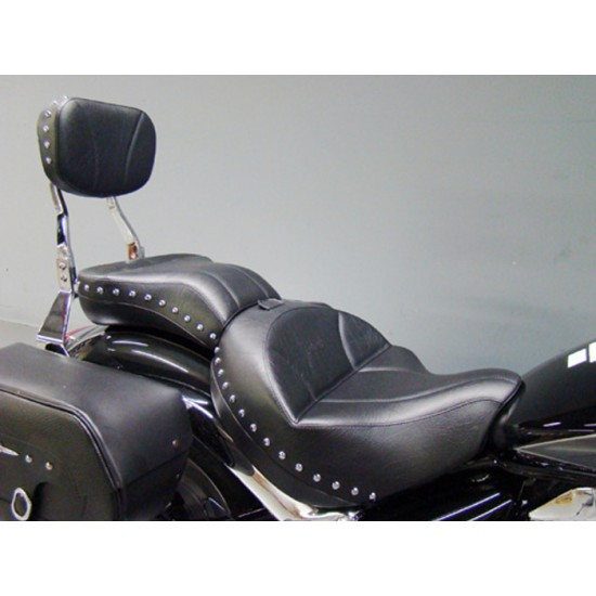 Boulevard C109 Seat, Passenger Seat and Sissy Bar Pad - Plain or Studded