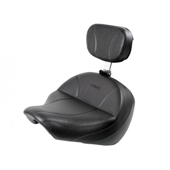 Boulevard C50 / Volusia 800 Midrider Seat and Driver Backrest - Plain or Studded