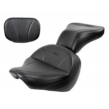 Boulevard C50 / Volusia 800 Midrider Seat, Passenger Seat and Sissy Bar Pad - Plain or Studded