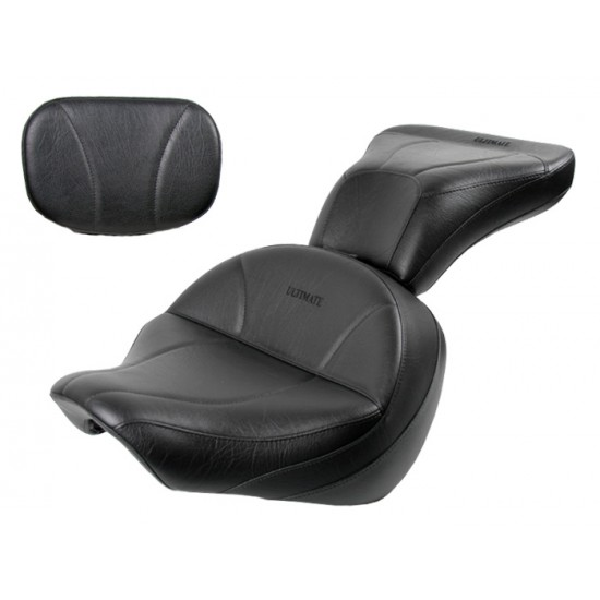 Boulevard C50 / Volusia 800 Midrider Seat, Passenger Seat and Sissy Bar Pad - Plain or Studded