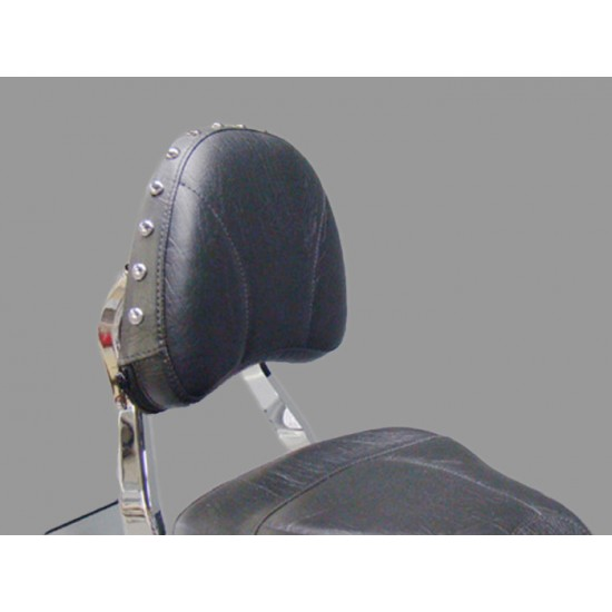 Boulevard C50 / Volusia 800 Stock Sissy Bar Pad Cover - Plain or Studded