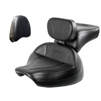 Boulevard C90 / C90T Midrider Seat, Passenger Seat, Driver Backrest and Stock Sissy Bar Pad Cover - Plain or Studded