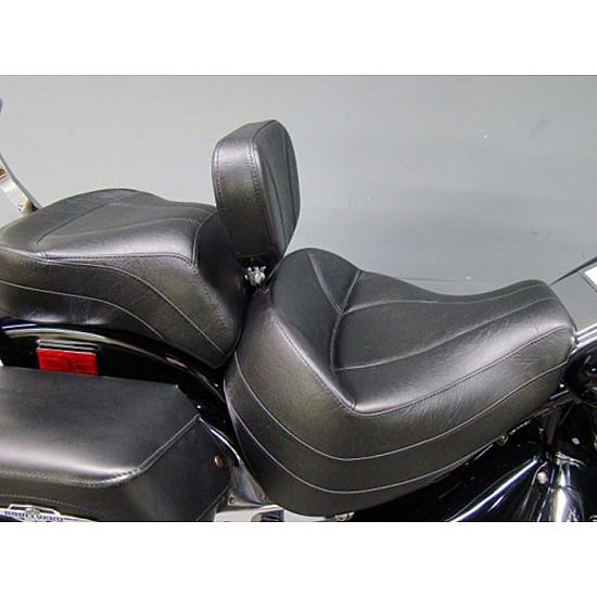 Boulevard C90 / C90T Midrider Seat, Passenger Seat and Driver Backrest - Plain or Studded