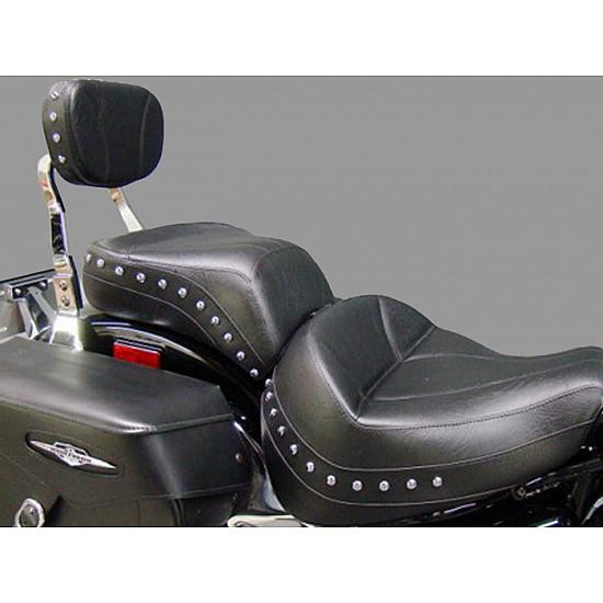 Boulevard C90 / C90T Midrider Seat, Passenger Seat and Sissy Bar Pad - Plain or Studded