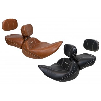 Chief / Chieftain Classic / Springfield / Vintage Driver Seat, Passenger Seat, Driver Backrest and Sissy Bar Pad (2019-2021)
