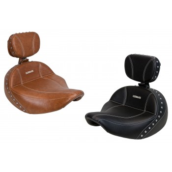 Chief / Chieftain / Springfield Solo Seat and Driver Backrest (2014-2018)