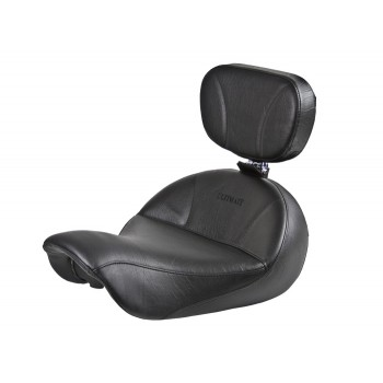 Dyna Seat and Driver Backrest - Plain or Studded (2006 - 2017)