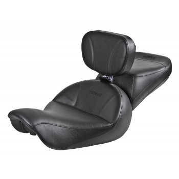 Dyna Seat, Passenger Seat and Driver Backrest - Plain or Studded (2006 - 2017)