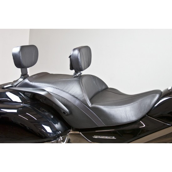 F6B Midrider Seat, Driver Backrest and Passenger Backrest - Standard or Deluxe Model