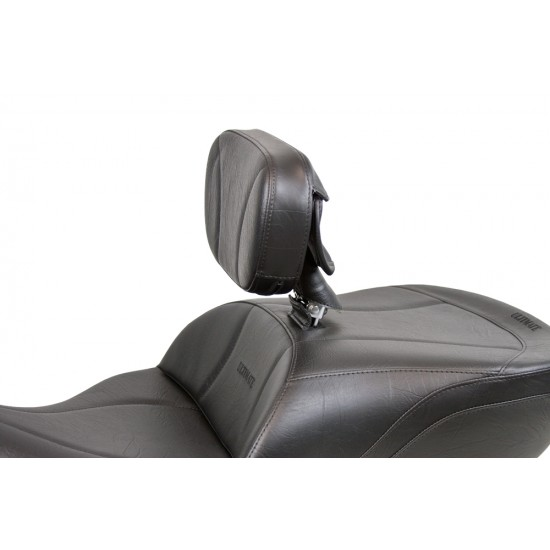 FLH® 2014 and Newer Ultimate Touring 1-Piece Seat and Driver Backrest