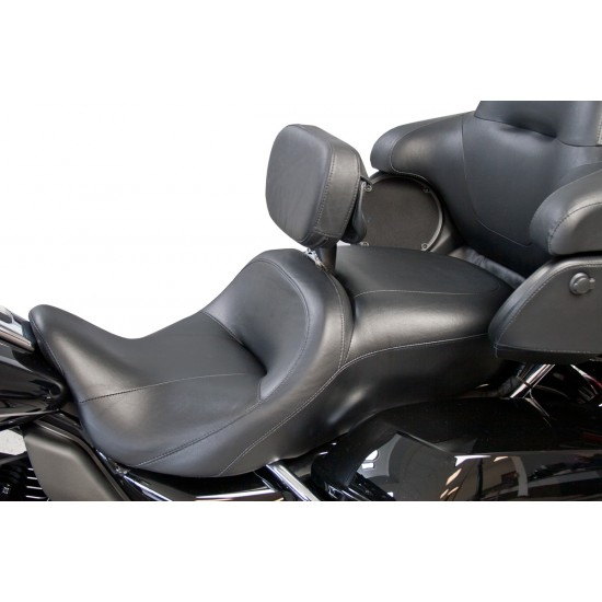 Stock Seat Driver Backrest and Mount for FLH® Touring Models (1997 - 2007)