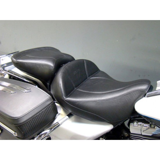 FLH® 2008-2013 2-Piece Seat and Passenger Seat - Plain or Studded