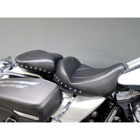 FLH® 1997-2007 2-Piece Midrider Seat and Passenger Seat - Plain or Studded