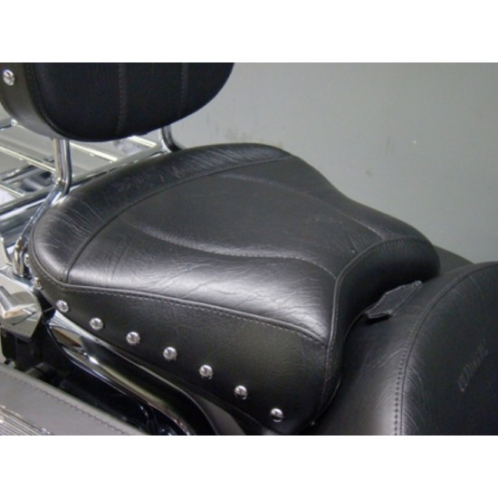 FLH® 2008 and Newer Passenger Seat - Plain or Studded