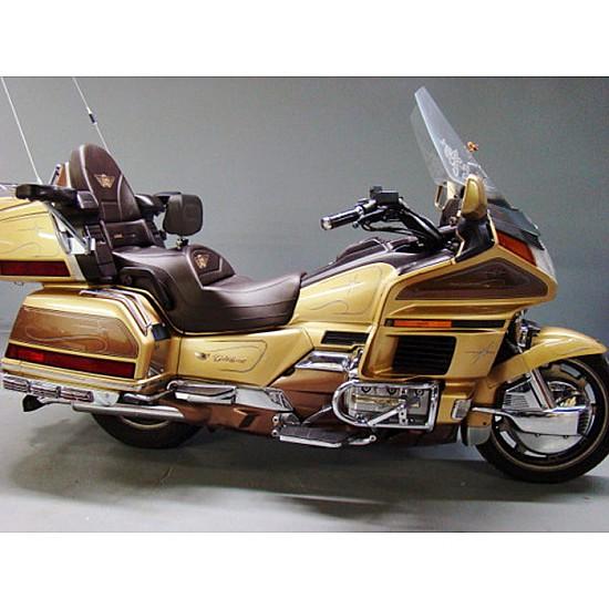 Goldwing GL 1500 Midrider Seat, Driver Backrest and Passenger Backrest - Black or Brown