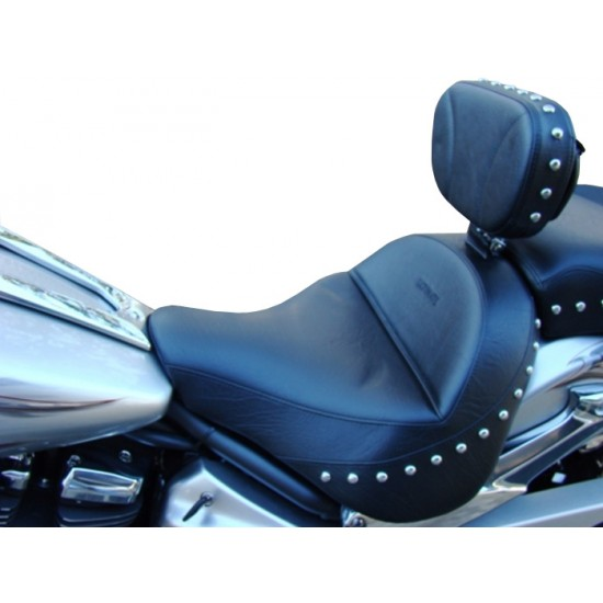 Raider Midrider Seat and Driver Backrest - Plain or Studded