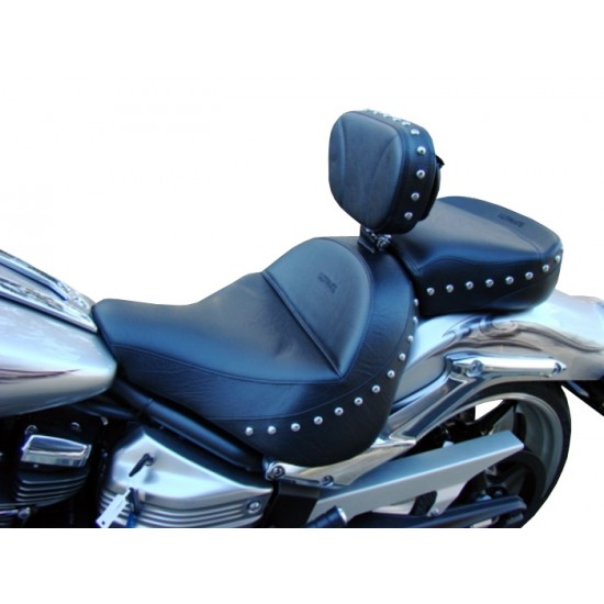 Raider Midrider Seat, Passenger Seat and Driver Backrest - Plain or Studded