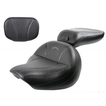 Road Star Midrider Seat, Passenger Seat and Sissy Bar Pad - Plain or Studded