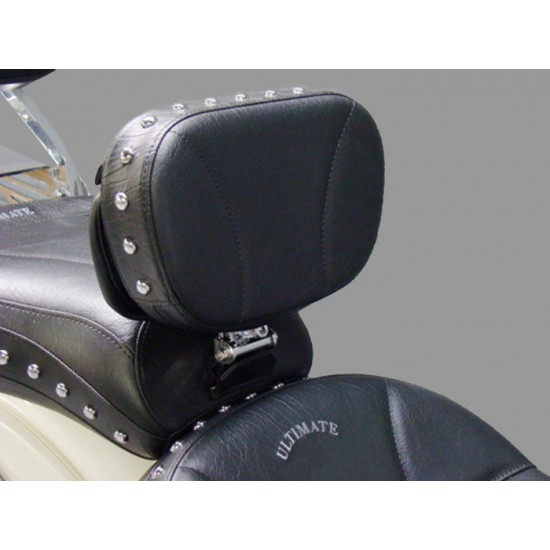 Road Star Driver Backrest - Plain and Studded