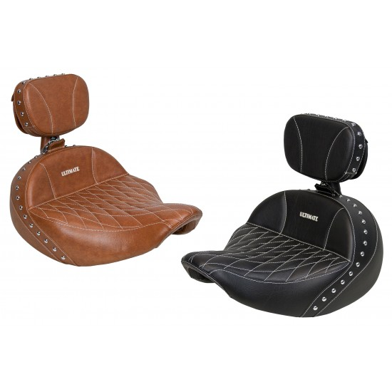 Indian® Roadmaster® Solo Seat and Driver Backrest