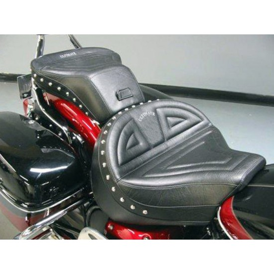 Royal Star Midrider Seat and Passenger Seat - Plain or Studded