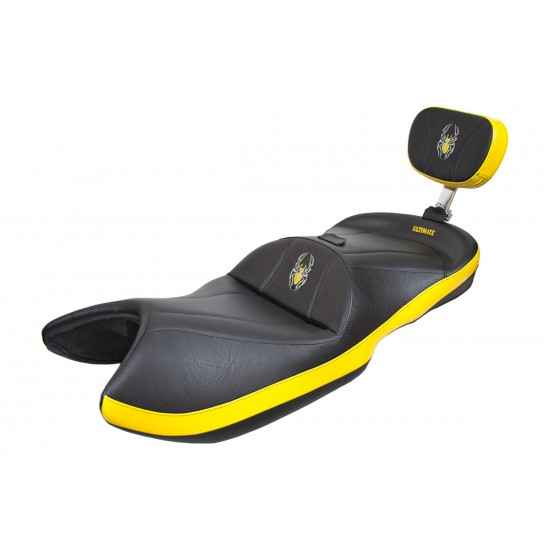 Spyder ST Seat - Side Yellow Inlays and Logos