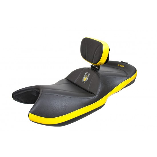 Spyder GS / RS Seat - Side Yellow Inlays and Logos