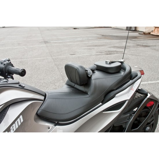 Spyder ST Shortest Reach Seat, Driver and Passenger Backrest