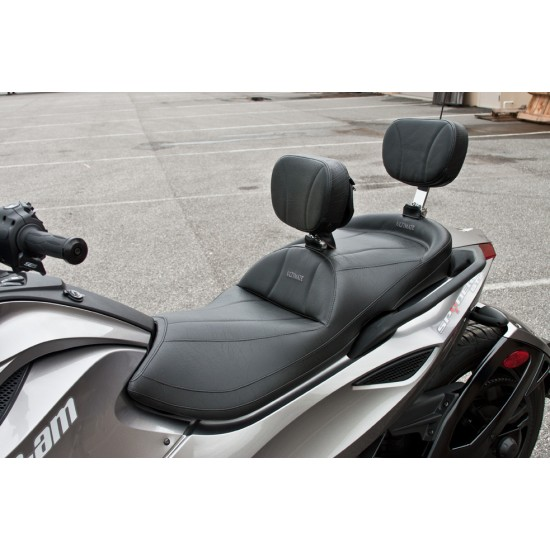 Spyder ST Midrider Seat, Driver and Passenger Backrest
