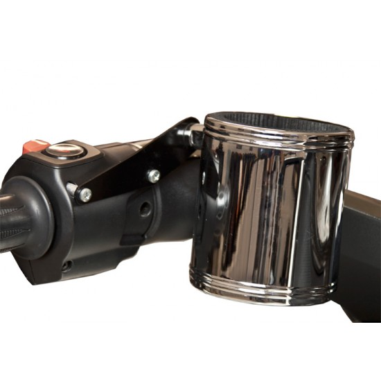 Spyder ST Switch Mount Cupholder Kit - Black or Chrome