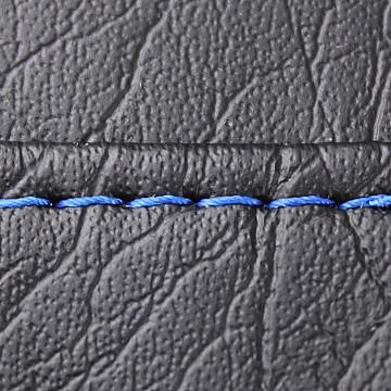 Single Bright Blue Seat Stitch