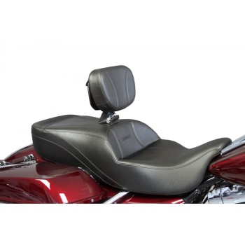FLH® 2009-2013 Slimline Seat and Driver Backrest