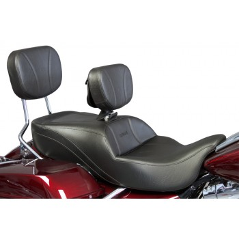 FLH® 2009-2013 Slimline Seat, Driver Backrest and Sissy Bar Pad