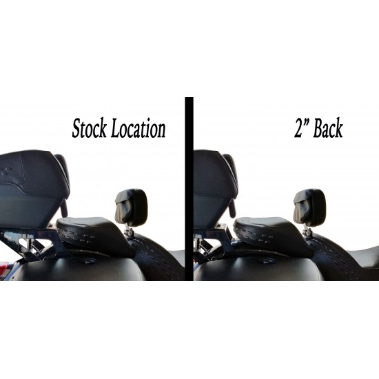 Softail® Heritage and Deluxe Trunk Relocation Kit (2018 and Newer)