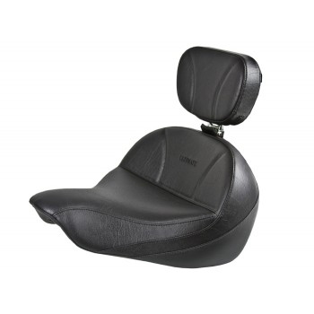 Softail® (2000-2017) Seat and Driver Backrest - Plain or Studded
