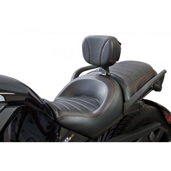 Spyder F3 Stock Seat Driver Backrest with Mounting Bracket