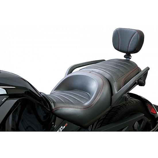 Spyder F3 Stock Seat Passenger Backrest with Mounting Bracket