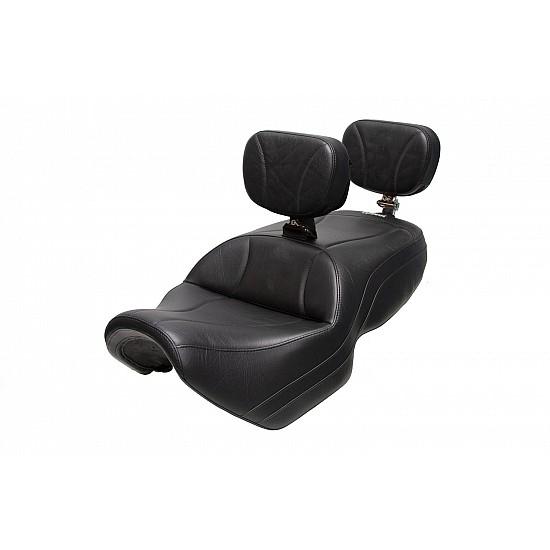Spyder F3 Seat, Driver Backrest and Passenger Backrest