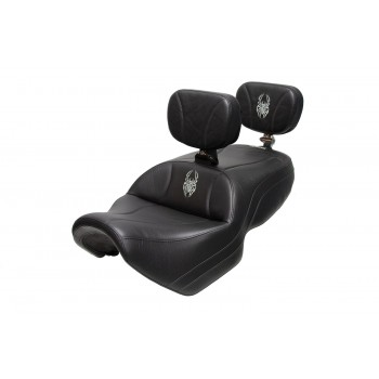 Spyder F3 Seat, Driver Backrest and Passenger Backrest