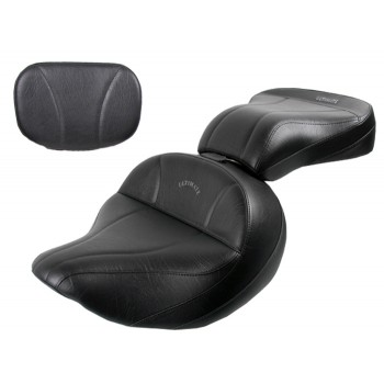 Roadliner / Stratoliner Lowrider Seat, Passenger Seat and Sissy Bar Pad - Plain or Studded